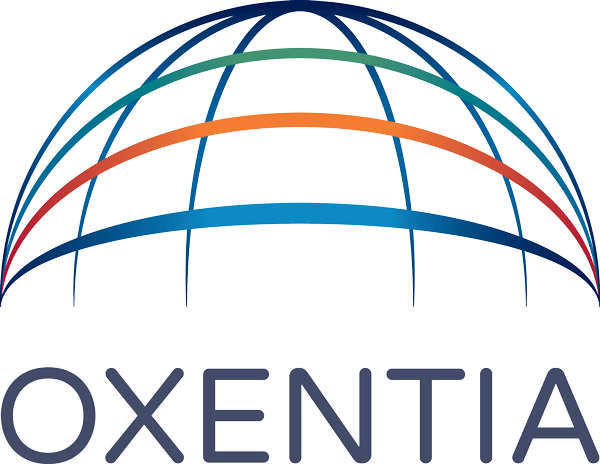 Oxentia logo colour no strap alpha web